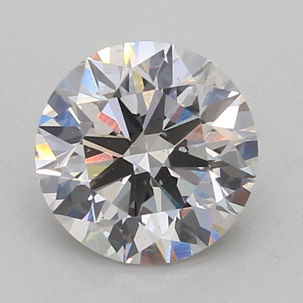 Round Cut 2.52 Carat H Color Si1 Clarity Sku Lg1227125